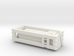 Modular Fuel or Water load 1 to 285 scale in White Natural Versatile Plastic