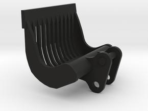 puinbak voor midikraan 8 tonner 1:50 modelbouw in Black Natural Versatile Plastic
