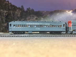 Windows for SP Suburban Bachmann 72' Coach Convers in Smooth Fine Detail Plastic