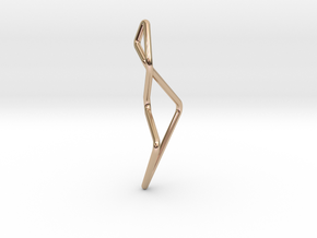 A-LINE Enmotion, Pendant. Pure Chic in 14k Rose Gold