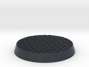 32mm Double Diamond Base for Citadel Miniatures in Black Professional Plastic