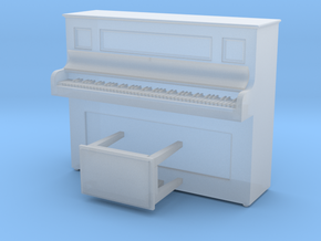 HO Scale Piano in Smooth Fine Detail Plastic