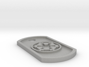 Star Wars Imperial Seal Themed Dog Tag in Aluminum