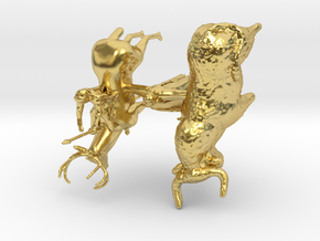 Spirits of Jupiter in Polished Brass