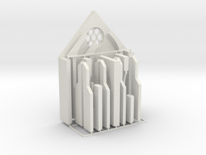 Kloster-Ruine V2 - Portal-Raum in White Natural Versatile Plastic