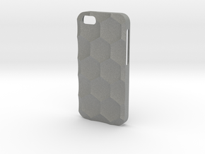 iPhone SE/5S Case_Hexagon in Gray PA12