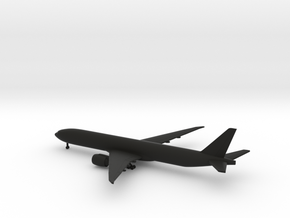 Boeing 777-300ER in Black Natural Versatile Plastic: 1:700