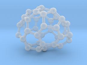 0648 Fullerene c44-20 c1 in Smooth Fine Detail Plastic