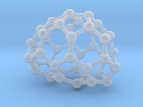 0649 Fullerene c44-21 c1 in Smooth Fine Detail Plastic