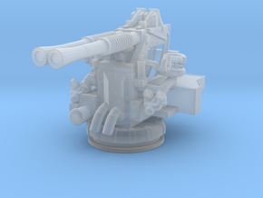 1/240 USN 40mm Bofors Twin Mount in Smooth Fine Detail Plastic
