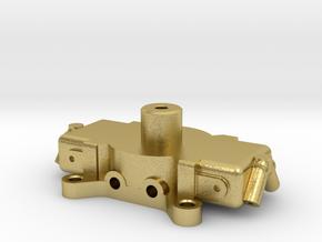 Carburetor (type 3) for RC4WD V8 Engine. in Natural Brass