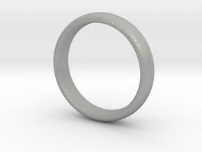 Simple ring in Aluminum