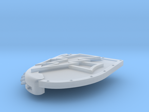 Left-handed Chainshield (Bolt and Level design) in Smooth Fine Detail Plastic: Small