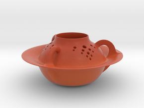 Vase 1851Arc in Matte Full Color Sandstone