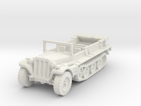 sdkfz 10 scale 1/100 in White Natural Versatile Plastic