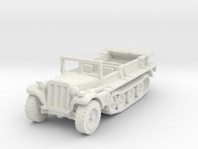 Sdkfz 10 B (open) 1/87 in White Natural Versatile Plastic