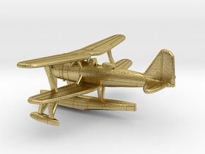 1/200 IJN Mitsubishi F1M2 'Pete' Type 0 Observatio in Natural Brass