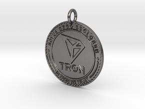 TRON Pendant in Polished Nickel Steel