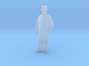 Printle C Homme 1631 - 1/72 - wob in Smooth Fine Detail Plastic