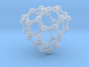 0659 Fullerene c44-31 c1 in Smooth Fine Detail Plastic