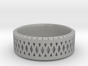 Filigree Ring in Aluminum: 6 / 51.5