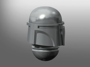 Django-Vett pattern Prime Helmet in Smooth Fine Detail Plastic: Small