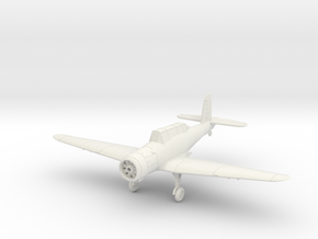 Blackburn Skua, wheels down. in White Natural Versatile Plastic: 1:144
