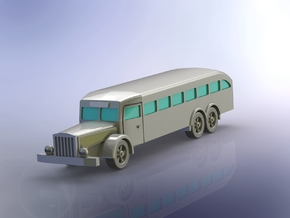 German Vomag 7 OR 660 Bus 1/120 TT in Smooth Fine Detail Plastic