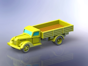German Ford V3000S Truck 1/120 TT in Smooth Fine Detail Plastic