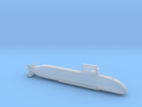 Soryu-class submarine, Full Hull, 1/1800 in Smooth Fine Detail Plastic