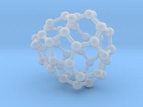 0660 Fullerene c44-32 c1 in Smooth Fine Detail Plastic