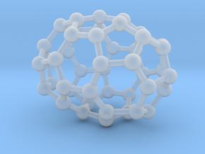 0666 Fullerene c44-38 d3d in Smooth Fine Detail Plastic