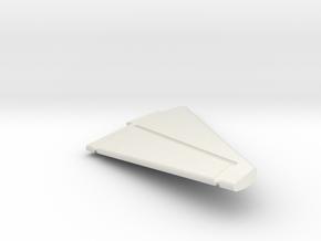 F8-144scale-08-RightStabilizer in White Natural Versatile Plastic