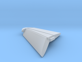 F8-144scale-14-RightWingTip-FlapsDown in Smooth Fine Detail Plastic