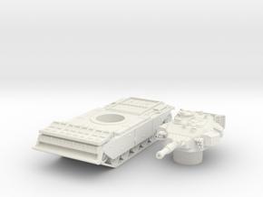 centurion AVRE scale 1/100 in White Natural Versatile Plastic