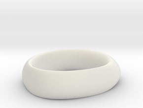 Ring 6 in White Natural Versatile Plastic
