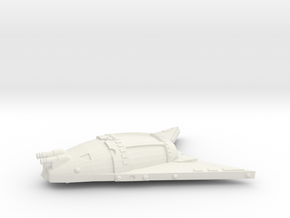 3788 Scale Hydran Lion Hunter War Destroyer Leader in White Natural Versatile Plastic