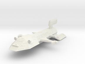 3125 Scale Kzinti Battleship (BB) SRZ in White Natural Versatile Plastic