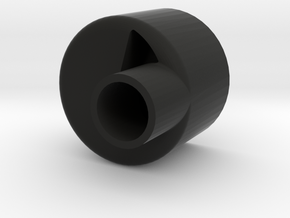 hopper twister inside in Black Natural Versatile Plastic