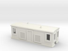 Alco Diesel Boxcab in White Natural Versatile Plastic