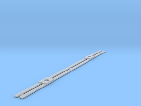 DE PCC MUNI Roofwalk HO SCALE in Smooth Fine Detail Plastic