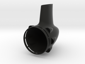 58mm Tailcone in Black Natural Versatile Plastic