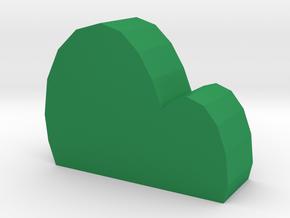 hill in Green Processed Versatile Plastic