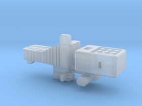TR: LG63 G2 Megatron addon 1 in Smooth Fine Detail Plastic