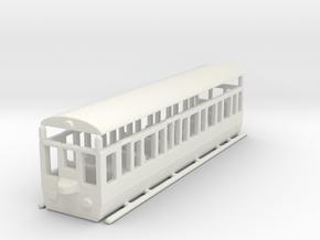 wengernalpbahn  wab b 24 1/160 in White Natural Versatile Plastic