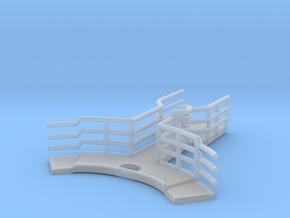 1/144 Bismarck Admirals Bridge Foremast Platform in Smooth Fine Detail Plastic