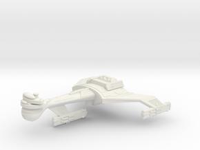 3125 Scale Klingon C5K Refitted Light Dreadnought in White Natural Versatile Plastic