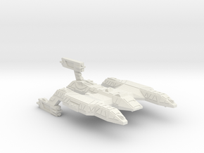 3788 Scale Lyran Refitted Wildcat Battlecruiser CV in White Natural Versatile Plastic