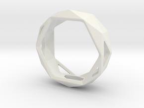 CUSTOM GEODE SIZE 8 in White Natural Versatile Plastic: 8 / 56.75