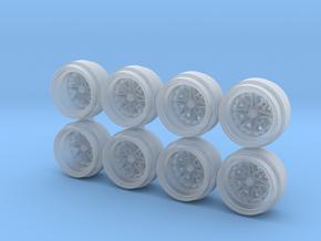 Work 03 Hot Wheels Rims in Smoothest Fine Detail Plastic